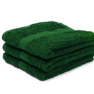 Green Bath & Hand Towels
