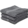 luxury grey hairdressing towels UK
